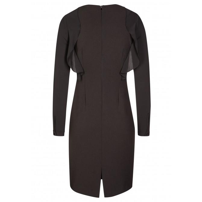 Elegantes Kleid IREM mit romantischen Volantsdetails /