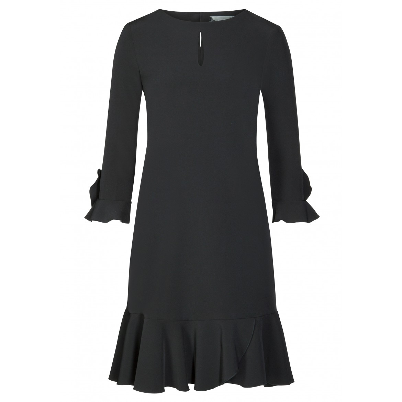 Stilvolles Kleid MILA mit romantischen Volantsd...