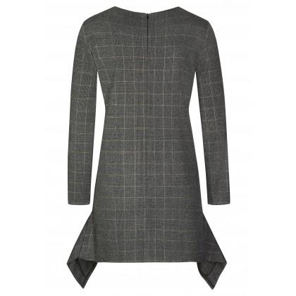 Klassisches Kleid ELLA mit stilvollem Karomuster /