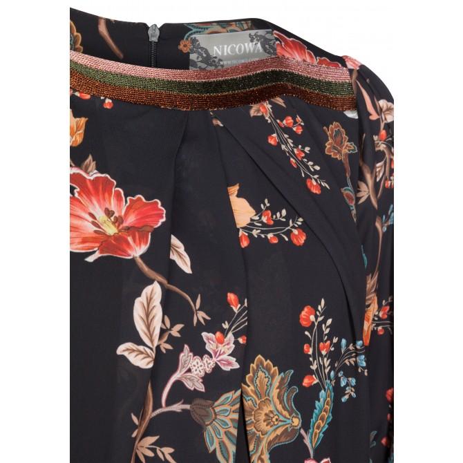 Bezauberndes Kleid ISABELLA mit elegantem Blumenmuster /