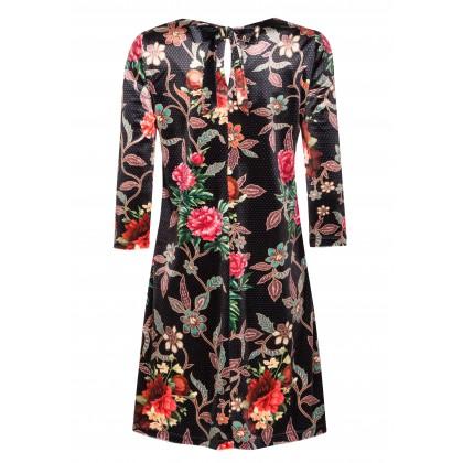 Elegantes Kleid MILENA mit bezauberndem Blumenmuster /