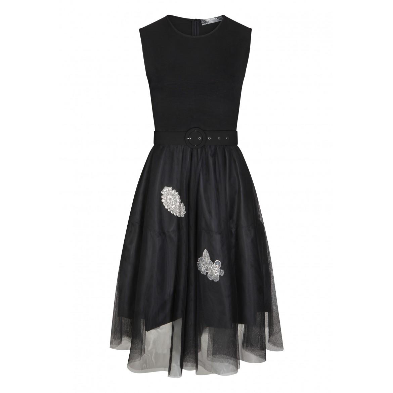 Elegantes Kleid ALUNCY mit stilvollen Details