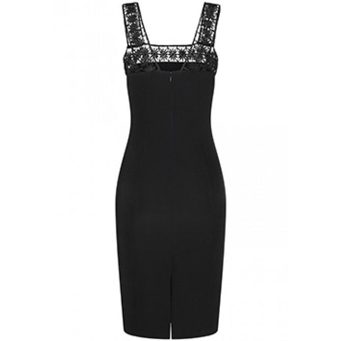 Elegantes Kleid PAULINE mit stilvollen Häkel-Details /