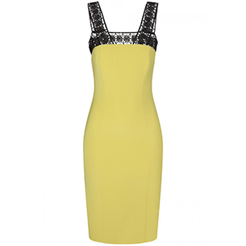 Elegantes Kleid PAULINE mit stilvollen Häkel-De...