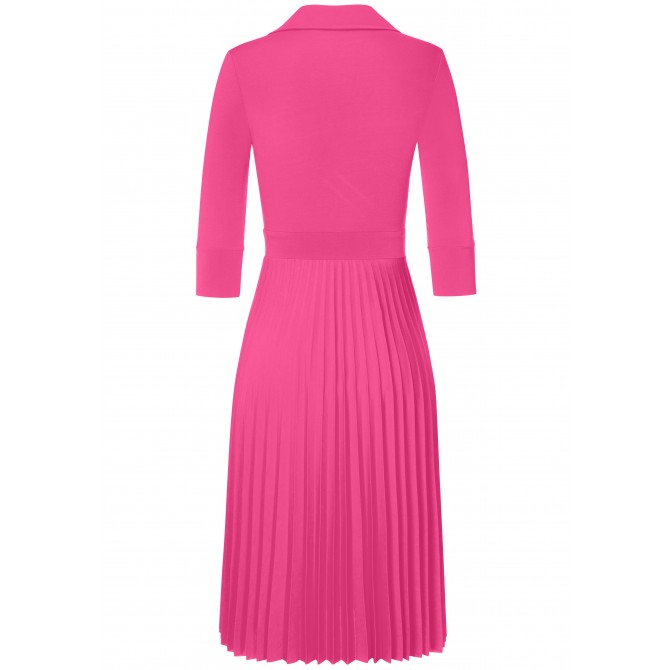 Bezauberndes Kleid VANESSA mit feinen Plissee-Falten /