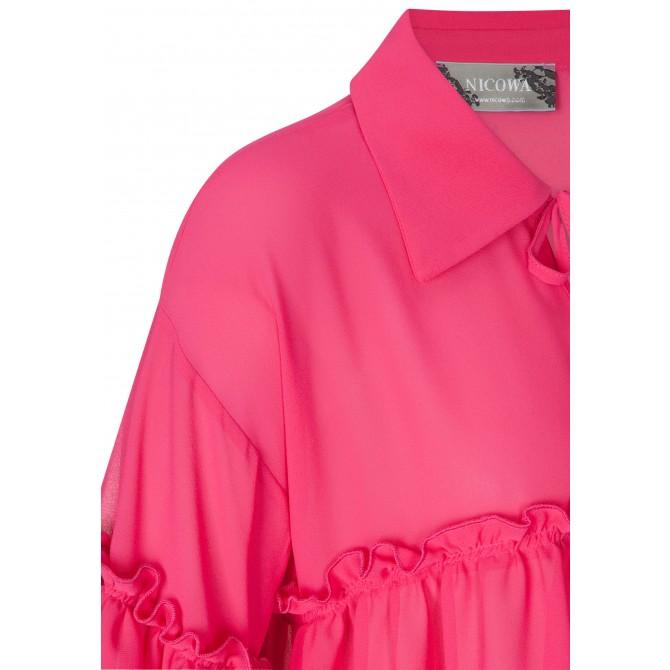 Bezaubernde Bluse JULE mit stilvollen Rüschen-Details /