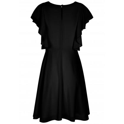 Feminines Kleid MINA mit stilvollen Spitzen-Details /
