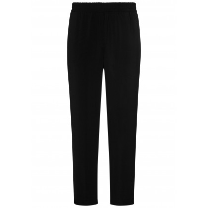 Casual trousers ALESSIA with contrasting braid strips /