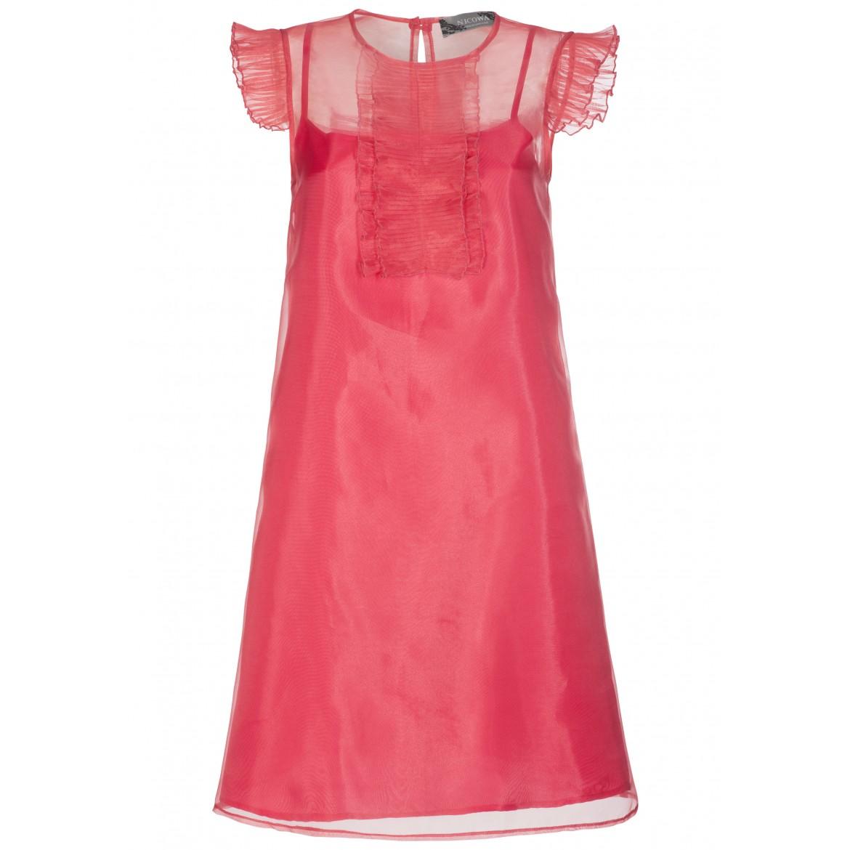 Extravagantes Kleid BASILIA in edel changierend...