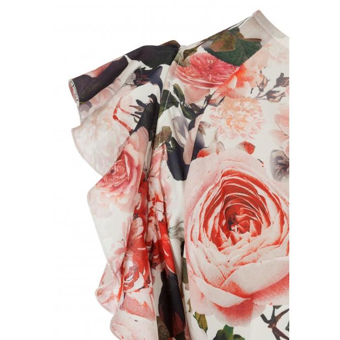 Bezaubernde Bluse FIDIA mit stilvollem Blumen-Dessin /