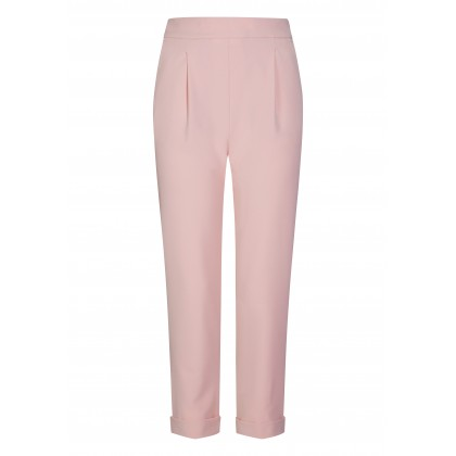 Stylish trousers NORA with tapered cut /