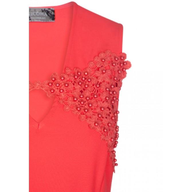 Edles Kleid PERSIA mit modischen Stickereien /