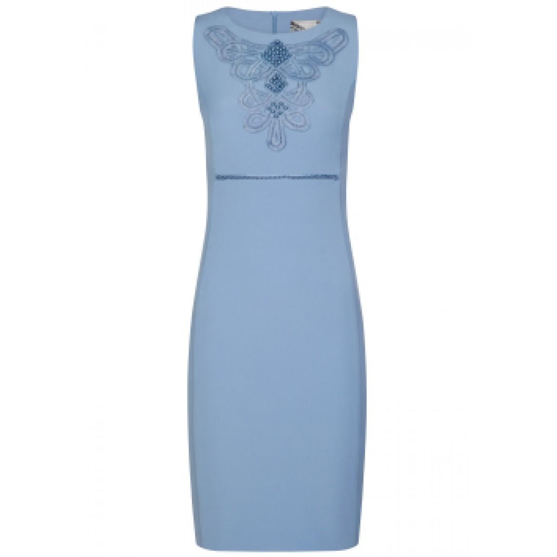 Edles Kleid REA mit modischen Perlen-Applikationen