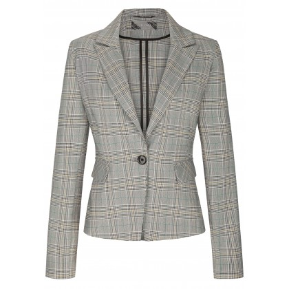 Stylish blazer NAURETTA with stylish checked design /