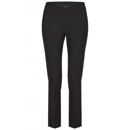 NICOWA - Classic trousers OICONA in black with crease /