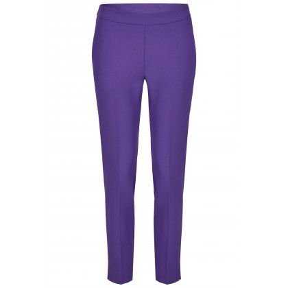 NICOWA - Classic trousers OICONA in amethyst with crease /