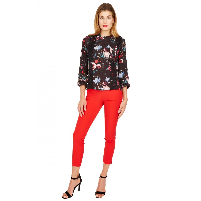 NICOWA – Bluse OTILDE mit floralem Muster