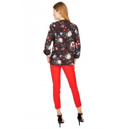 NICOWA - Blouse OTILDE with floral pattern /