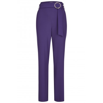 NICOWA - Elegant ACLORA trousers with wide legs /