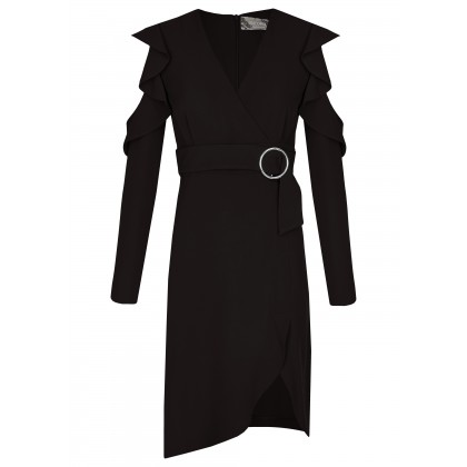 NICOWA - Precious wrap dress NAVA /