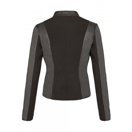 NICOWA - Fashionable jacket ACROCE with artificial leather inserts /
