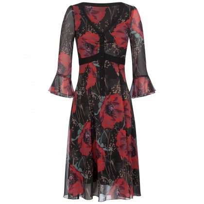 NICOWA - Romantic OWIDOLA floral dress /