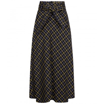 NICOWA - Stylish NONINNA skirt with check pattern /
