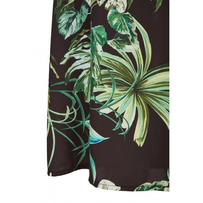 NICOWA – Elegantes Kleid CORIETA mit geschmackvollem Dschungelmuster /