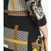 Kleid ITANJA mit stilvollem Musterarrangement /