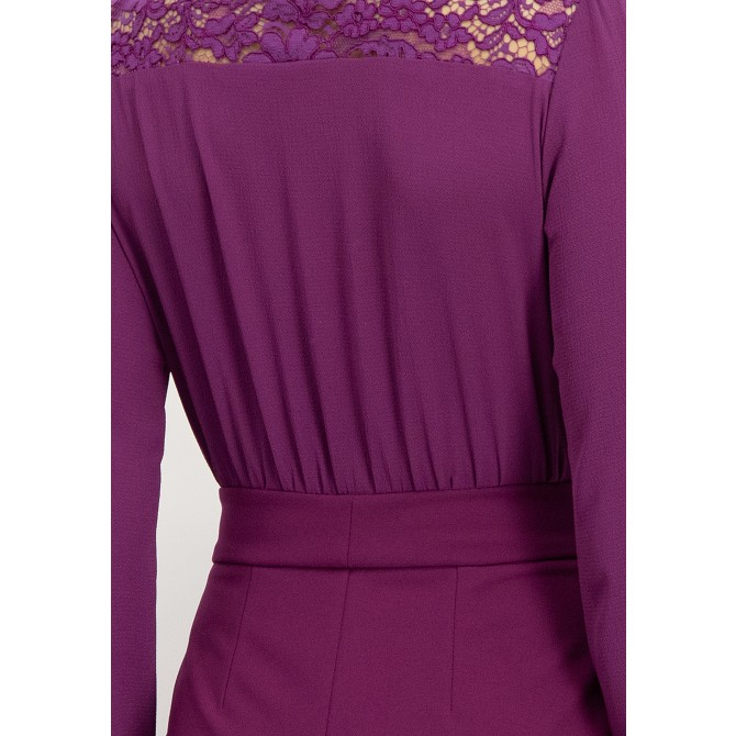 Feminines Kleid mit Spitze OFLAVIA /
