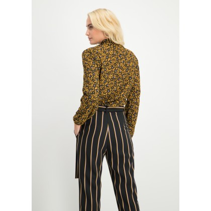 Trendy pants OFINIA with stripes /