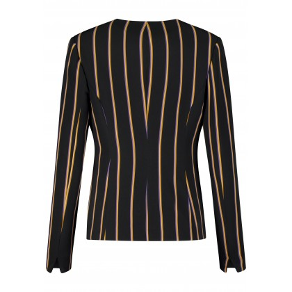 Fashionable blazer OFINIA with stripes /