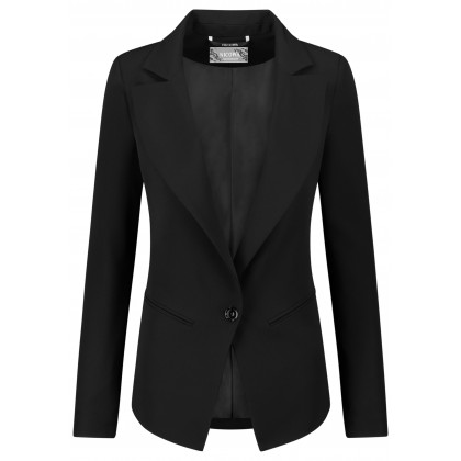 Elegant blazer NERINA in smoking-look /