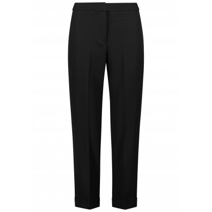 Elegant pants NENZONA with straight leg /