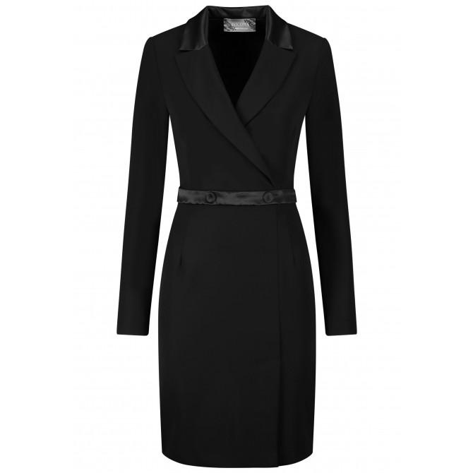 Elegantes Kleid NEOLA im Smoking-Stil /