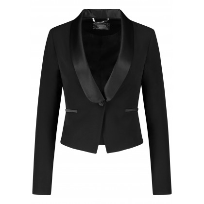 Elegant blazer ONEMERA in smoking-look /