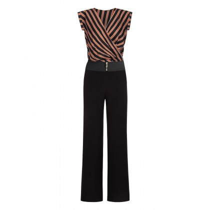 Stylish OLISIWA jumpsuit with striped top /