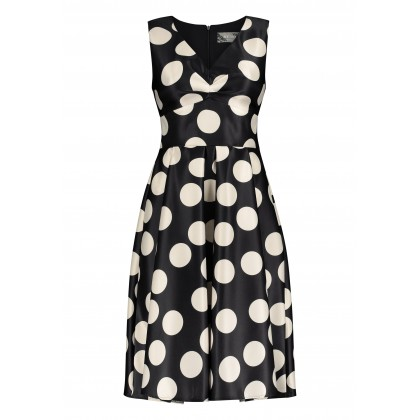 Feminine ERALDA dress with polka dot design /