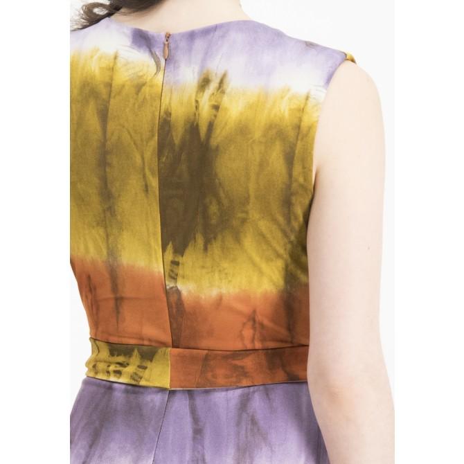 Modisches Maxikleid NORELA mit Batik-Design /
