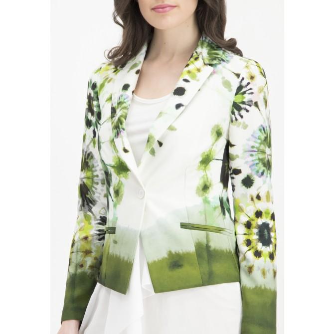Extravaganter Blazer ENEVA mit Batik-Design /