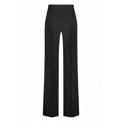 Elegant OFIDE high-waisted trousers with wide leg /