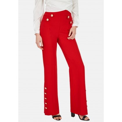 Trousers with high-quality metal buttons - NOSTELLE /