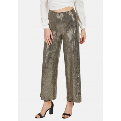 Trousers with gold sequins - ORINO /