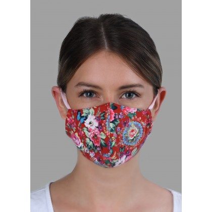 Premium protection mask with logo embroidery /