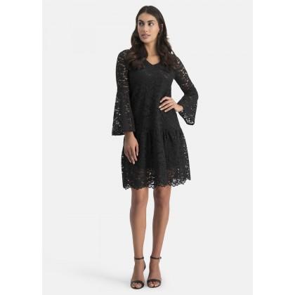 Kleid mit 3D-Spitze – ARNINO /