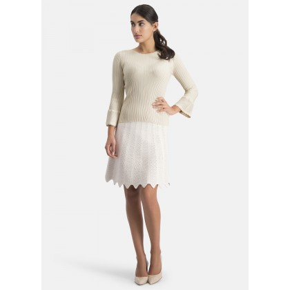 Jumper with bell sleeves – CALINO /