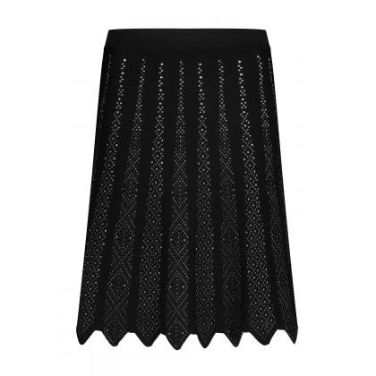 Knit skirt with jagged hem – ADITA /